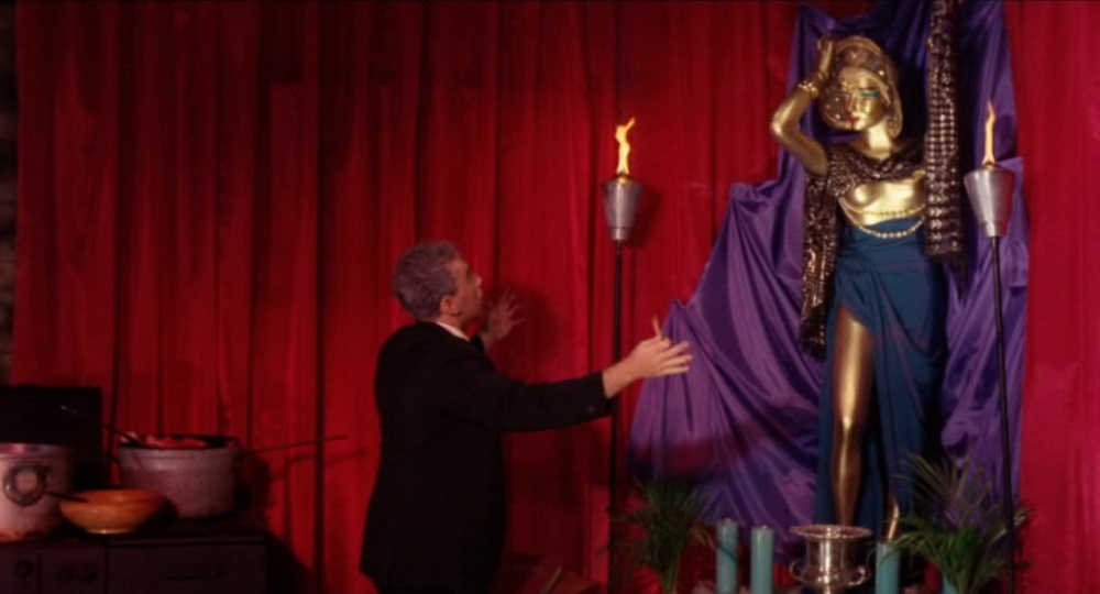 Fuad Ramses Prays to Ishtar (or a Department store Mannequin Spray Painted Gold)