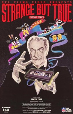 Strange but True Football Stories With Vincent Price
