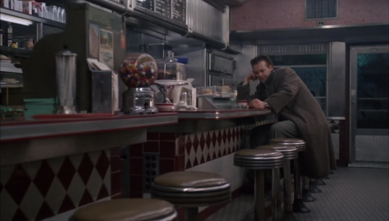 Angel Heart - Harry Angel at the Diner