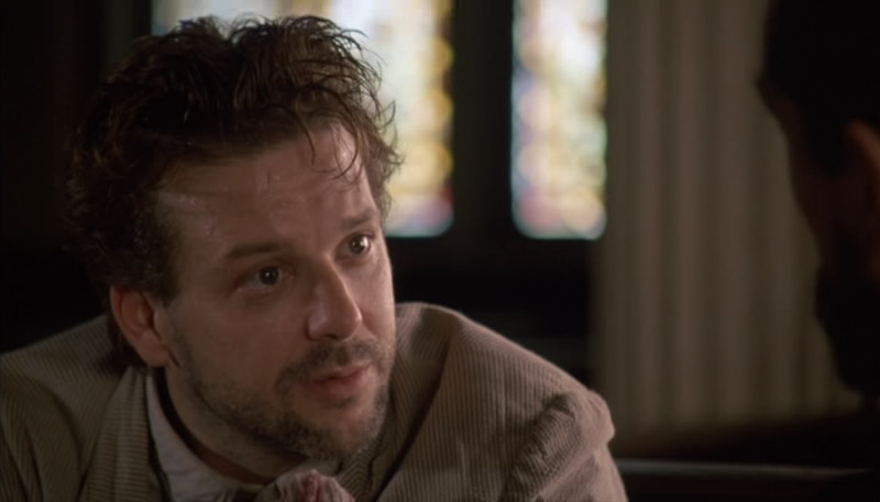 Angel Heart - Harry Angel Meets Louis Cyphre in a Church