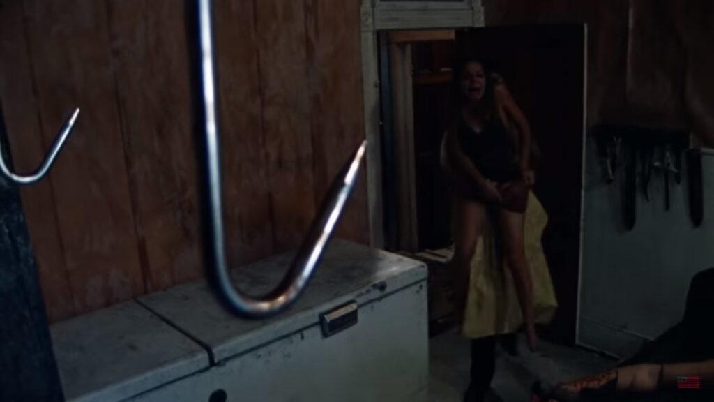 Texas Chain Saw Massacre Meat Hook Scene 1