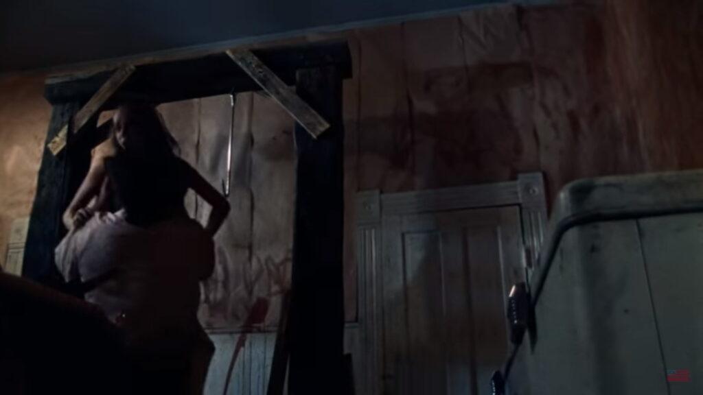 Texas Chain Saw Massacre Meat Hook Scene 2