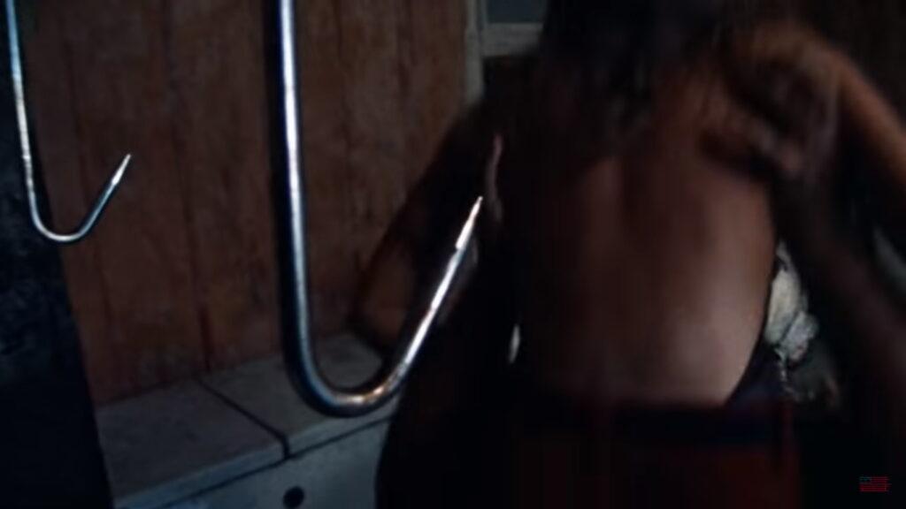 Texas Chain Saw Massacre Meat Hook Scene 3
