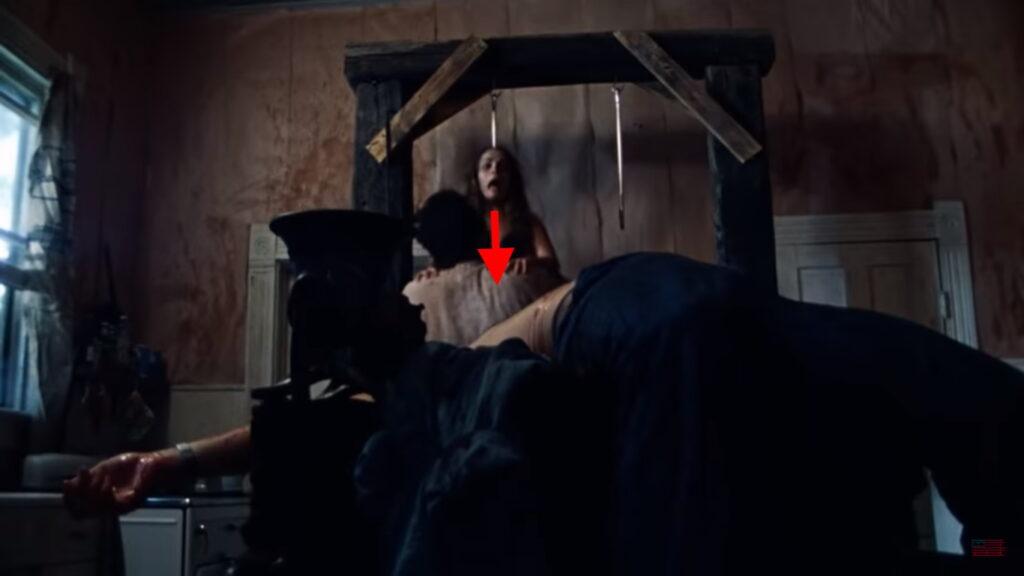 Texas Chain Saw Massacre Meat Hook Scene 4
